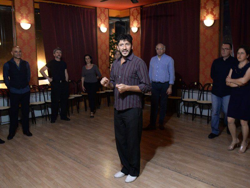 Lucas Di Giorgio, lezione di tango