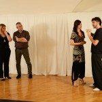 Lucas Di Giorgio e Marcella Oppezzi lezione di tango